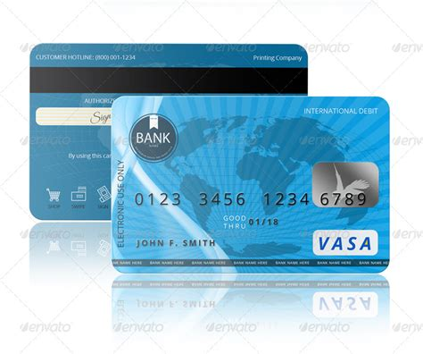Credit Card Template Psd Free Psd Credit Card Template By Pmvch Graphicriver