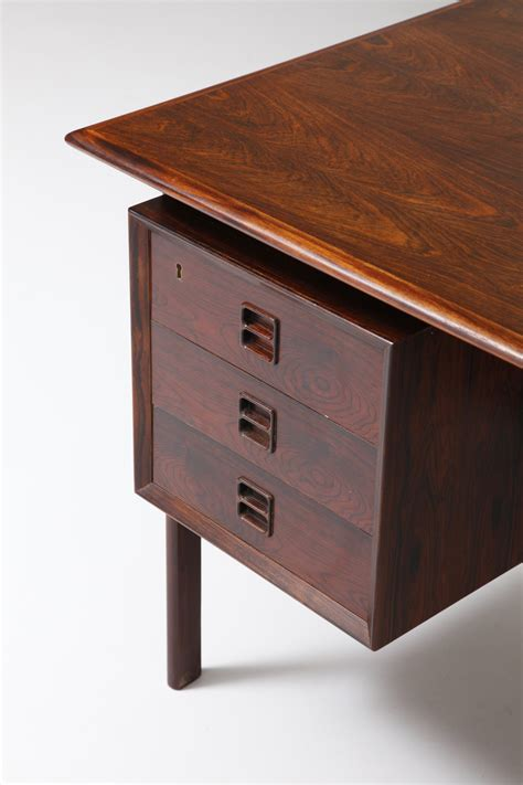 Rosewood Desk By Arne Vodder Modestfurniture Com Rosewood Desk