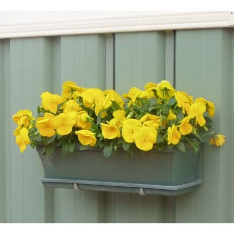 Colorbond Planter Boxes by Colorbond Fence Planter Box Hangups