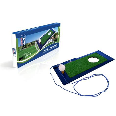Practice Mat Golf by Pga Tour 3 In 1 Golf Practice Mat Sweatband
