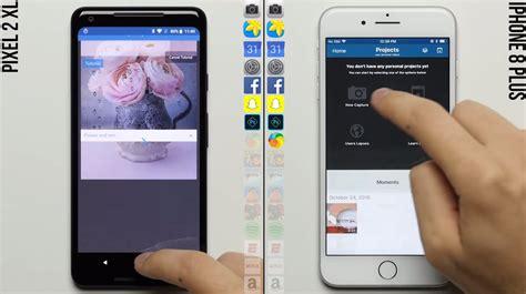 เปร ยบเท ยบความเร ว speed test pixel 2 xl ก บ iphone 8 plus iphonemod