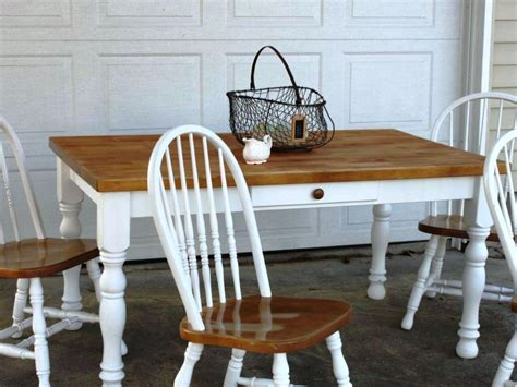 White Farmhouse Kitchen Table White Farmhouse Dining Room Table Home Design Ideas