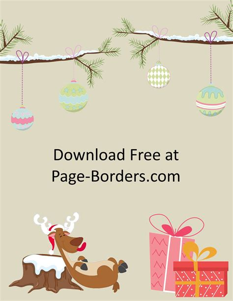 christmas border customize  personal commercial