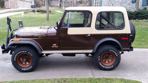 jeep cj golden 1979 original jeep cj7 golden eagle 304 v8 4 speed levi