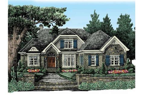 fairytale house plans fairytale charm hwbdo13645 cottage from
