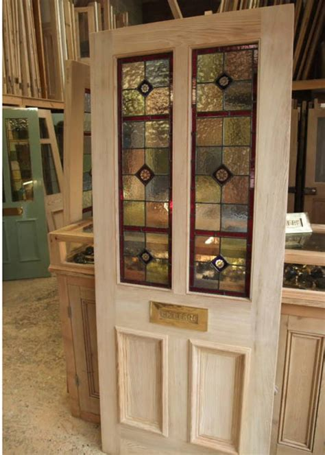 front door glass panels four panel stained glass front door stained glass doors