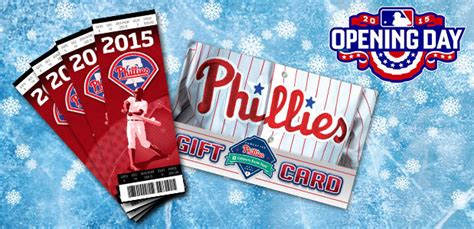 Phillies Gift Card - phillies holiday pack phillies com tickets