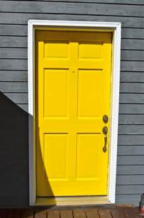 braner of 7 yellow door
