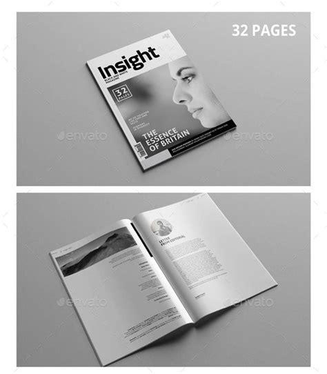 dark trees magazine layout free indesign template 44 stunning magazine templates for indesign photoshop