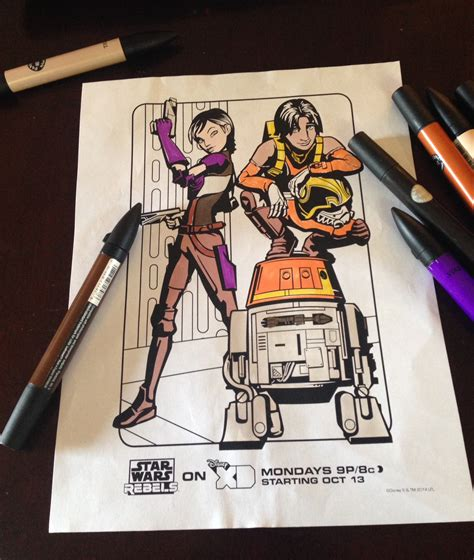 coloring pages wars rebels wars rebels review and printable activities