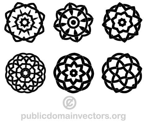 vector decorative geometric design elements download - Decorative Geometric Design