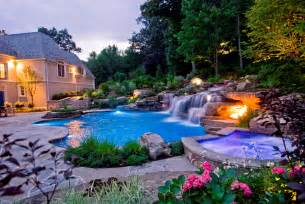 Beautiful Backyards With Pools Rolland Asley Small Yard Landscaping Ideas Nj Devils