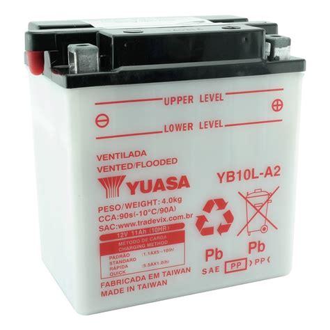 Baterai Yuasa Untuk Motor bateria yuasa yb10l a2 intruder 250 gs500 virago 250