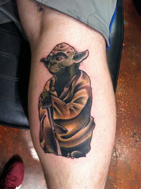 yoda tattoo best tattoo design ideas