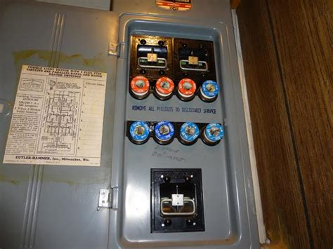 Fuse Panel Amperage Question For Electric Cooktop