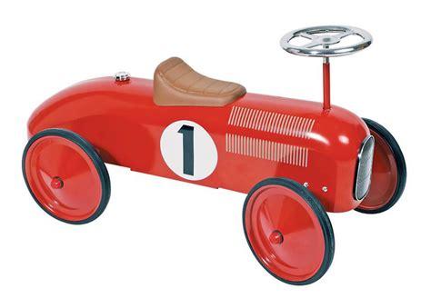 Tiny Planes johnco red metal speedster ride on