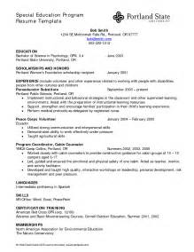 Education Format Resume by Education Resume Template Getessay Biz