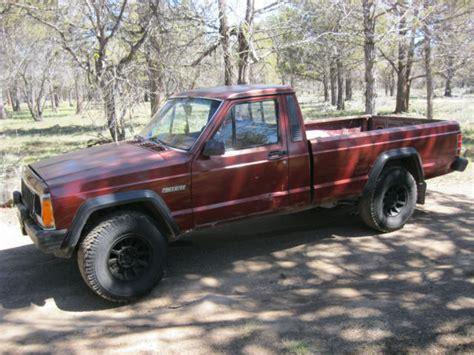 1986 jeep comanche mj 4x4 5spd v6 2 8 bed no rust