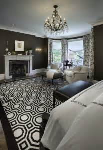 White Master Bedroom Design Ideas The Black And White Magic Design