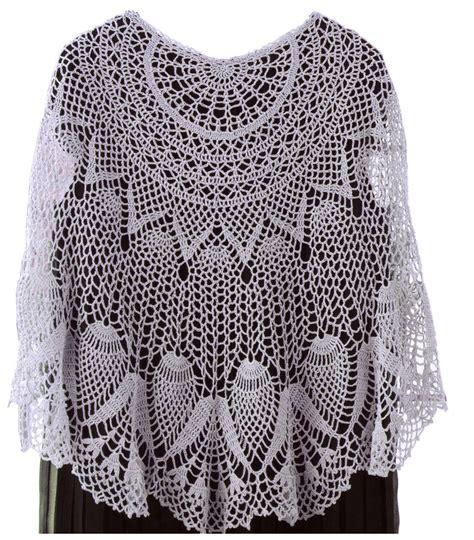 pattern motif crochet crochet shawl pattern crochet wrap with pineapple motif