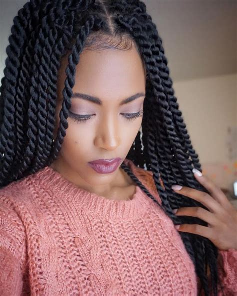 New Hair On Pinterest Havana Twists Senegalese Twists And | 25 best ideas about senegalese twists on pinterest