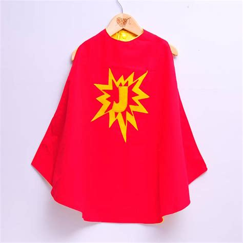 design a cape custom superhero cape with initial by alice cook designs