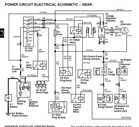deere 425 wiring harness wiring diagram