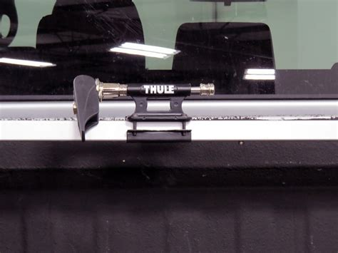 thule bed rack thule bed rider 2 bike rack for truck beds fork mount