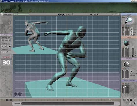 3d drawing online free 3d vfds male art technique software download for pc
