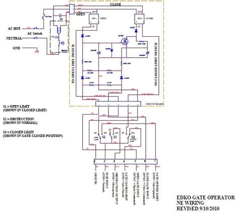 auto gate wiring diagram 24 wiring diagram images