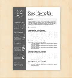 Resume Templates With Design Resume Template Cv Template The By Phdpress