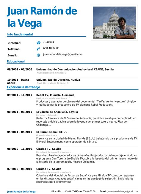 Modelo Curriculum Vitae Resumen best modelos de resumen curricular contemporary exle