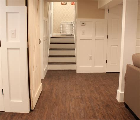 Best Type Of Flooring For A Basement by Walnut Vinyl Plank Flooring Basement Flooring