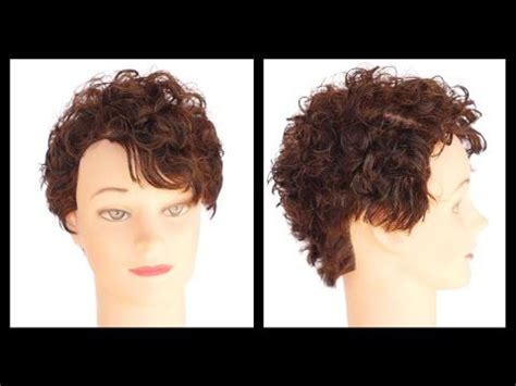 pixie cut tutorial step by step how to cut a curly hair pixie haircut step by step
