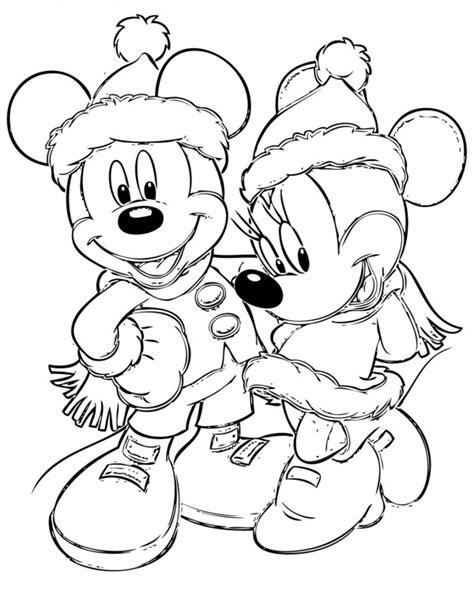 mickey mouse merry christmas coloring pages im 225 genes con dibujos de mickey mouse de navidad para