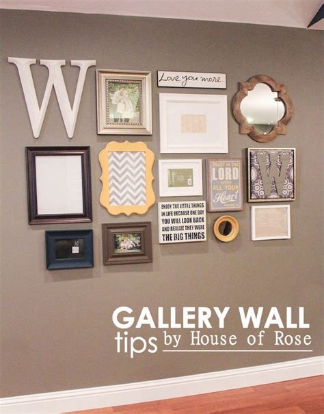 gallery wall how to i ran out of wall space sooooo