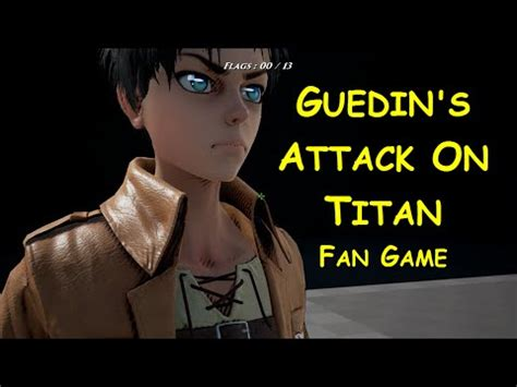 attack on titan fan game 啊倫試玩 guedin s attack on titan fan game youtube
