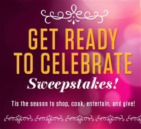 Ensure Can Do Giveaway Sweepstakes - get ready to celebrate sweepstakes enter online sweeps