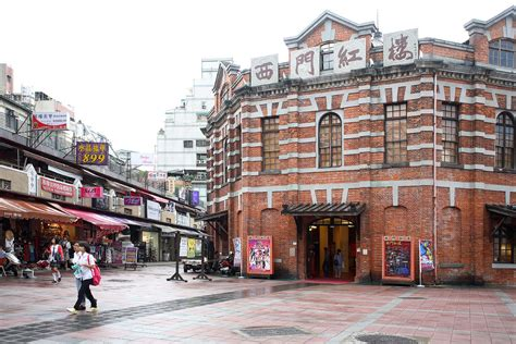 red house theater ximending red house theatre in taipei attraction in taipei taiwan justgola