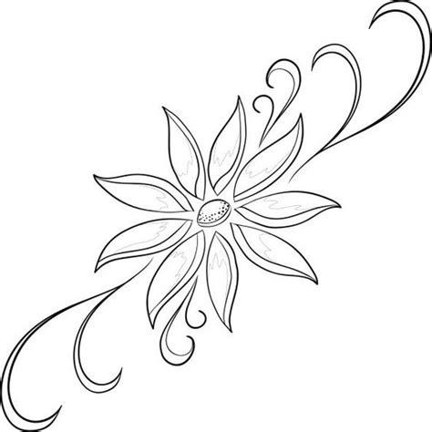 imagenes en blanco para colorear de flores dibujos de flores para imprimir y pintar