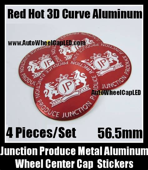 Stiker Nickel Junction Produce 1 junction produce 56 5mm wheel center caps emblems