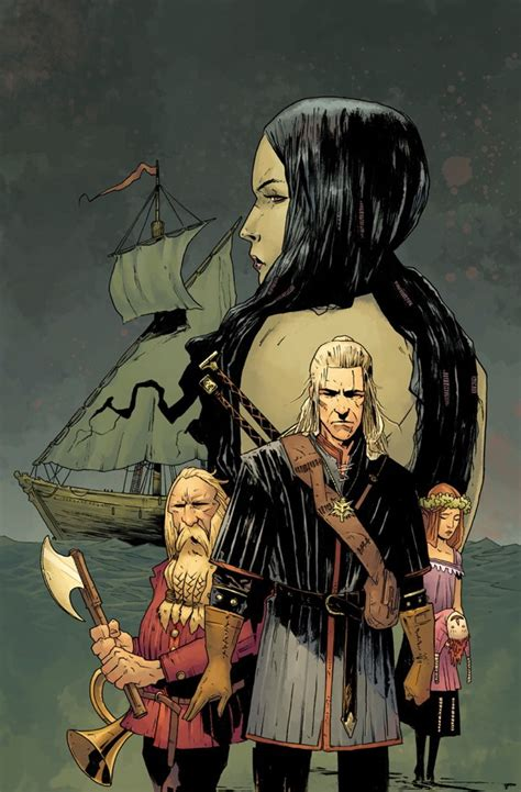 The Witcher Volume 1 House Of Glass Graphic Nove Buruan Ambil nycc 2014 announce the witcher returns for second series