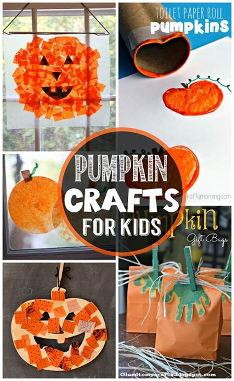 craft for children easy pumpkin crafts for to make this fall crafty