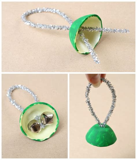 crafts with bells egg bell craft