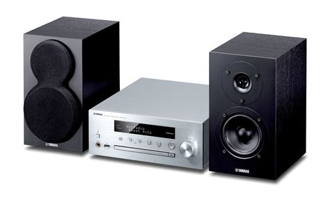 compact systems yamaha mcr n470 silver compact stereo systems audio