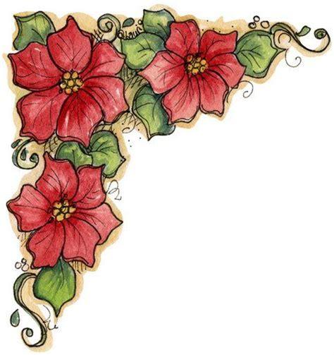 imagenes flores de navidad flores de navidad para colorear imagui