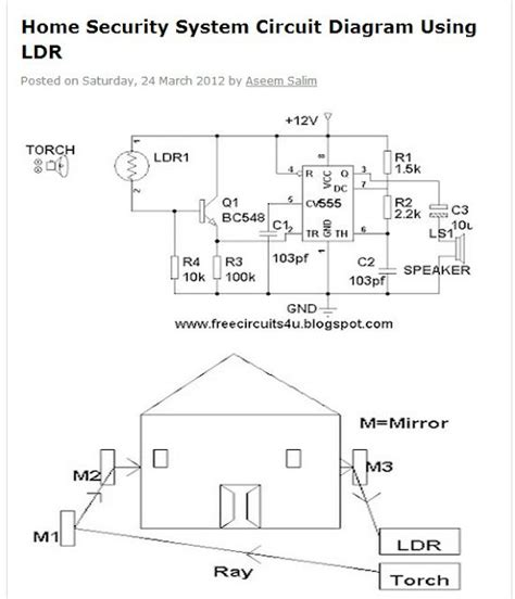home security system circuit diagram 28 images car