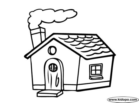 how to color a house house coloring pages getcoloringpages com