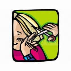 haircut cartoon girl comb clip art photos vector clipart royalty free images 1