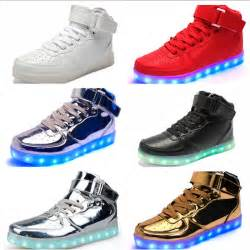 shoes adults light up shoes classic high top light up shoes for adults